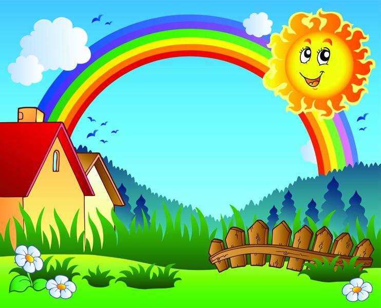 Картинки детские с солнышком и детьми
