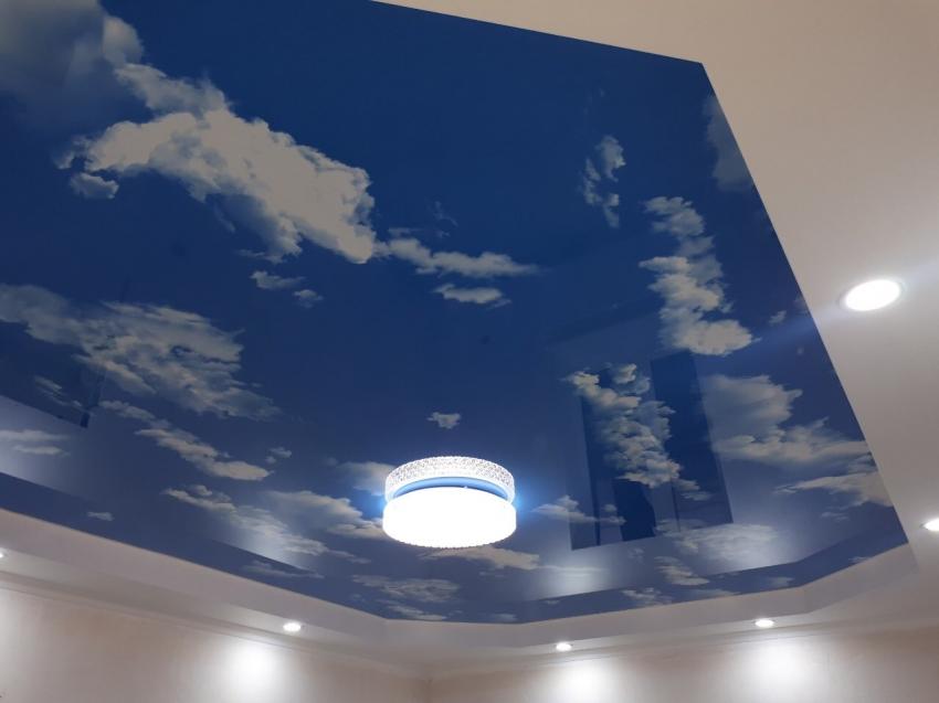 узнать, произошел цветные натяжные потолки фотогалерея выборе
