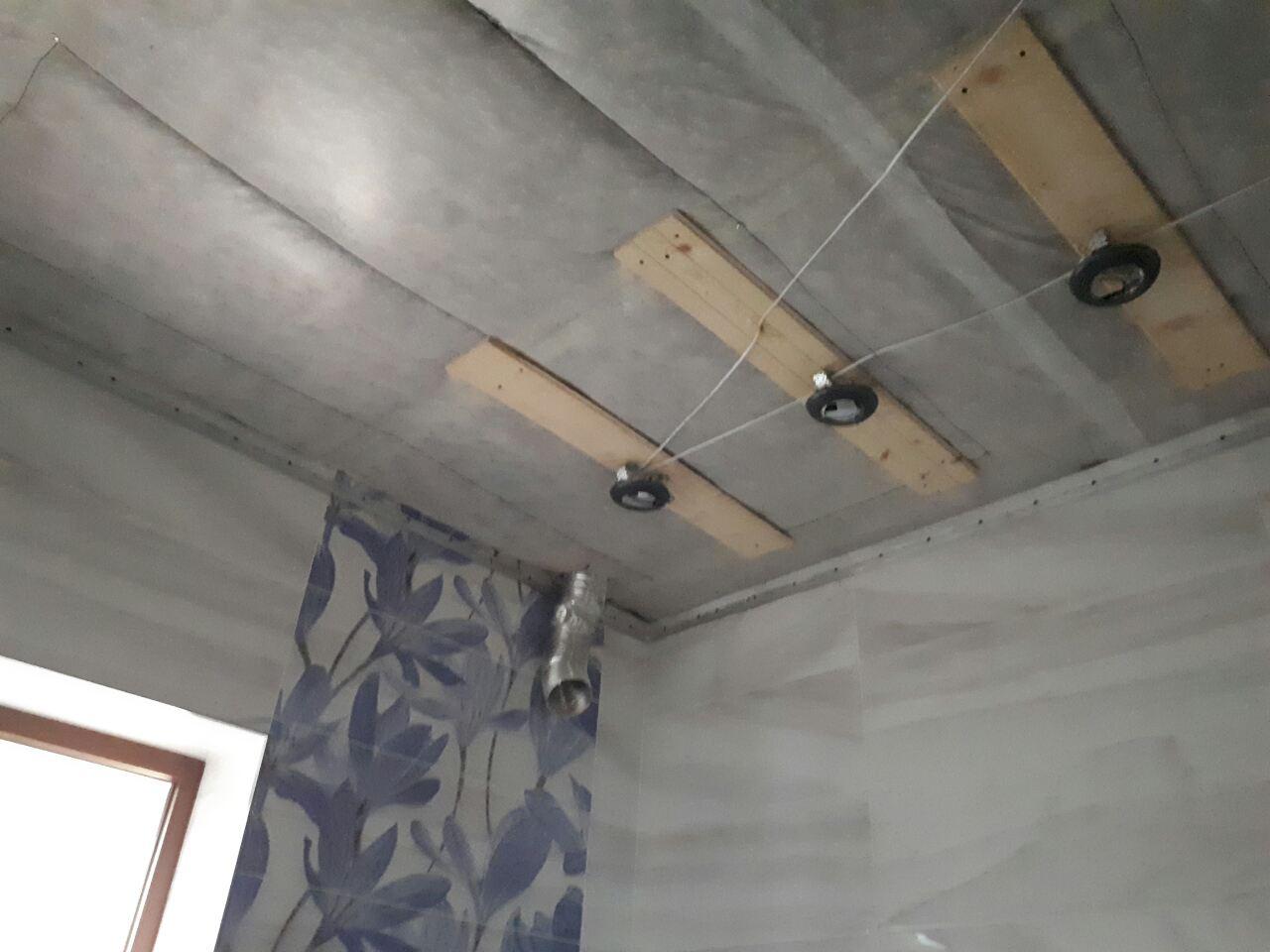 Как сделать потолок из гипсокартона 40